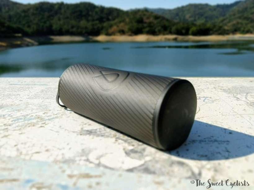 HydraPak Flux 1L Flexible Bottle - up close