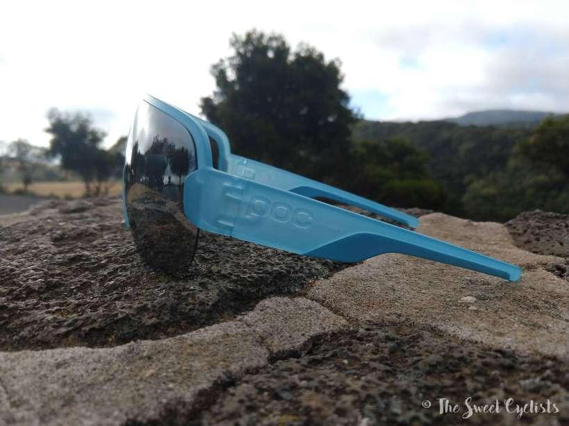 POC AIM sunglasses - snap off temple