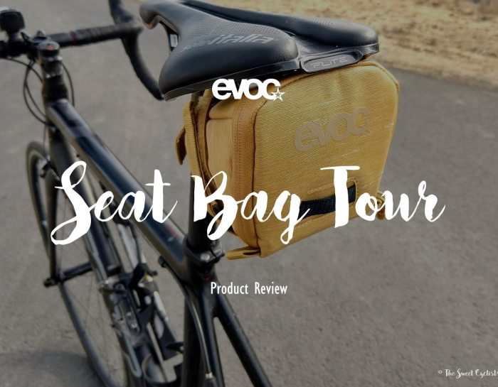 Carry extra gear with ease with the EVOC Seat Bag Tour