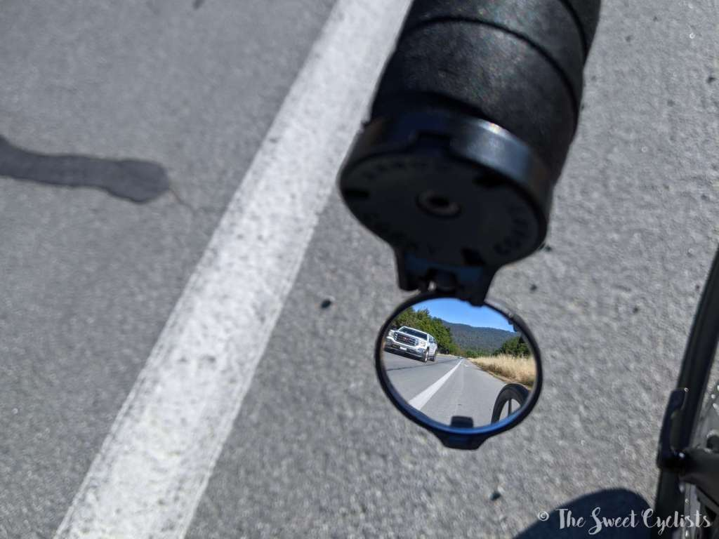 The Beam Corky Rearview Cycling Mirror - The View