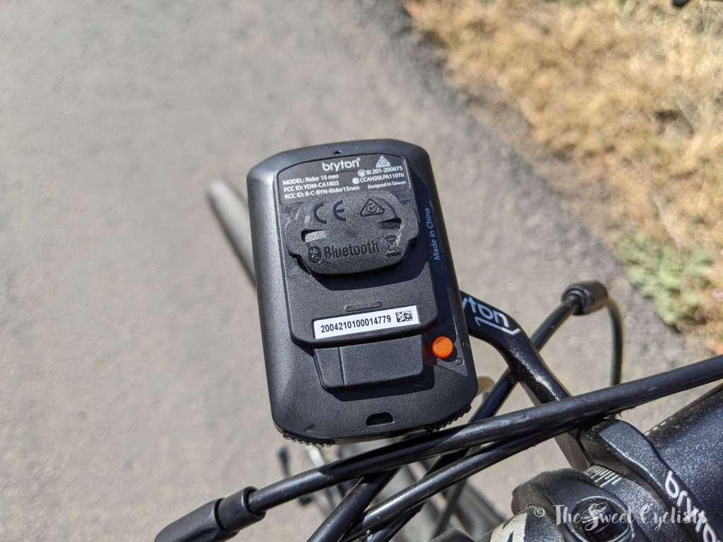 Bryton Rider 15 neo GPS Computer 0 Rear