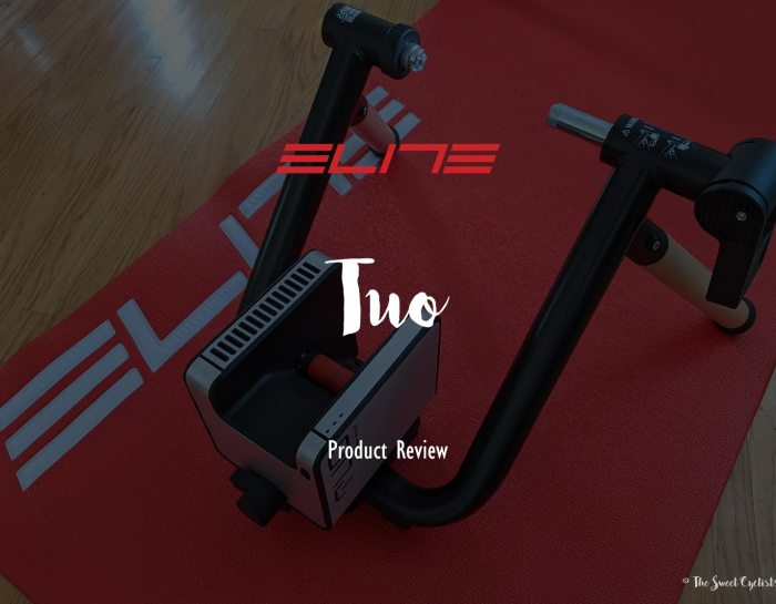 Elite's modern interactive wheel-on trainer