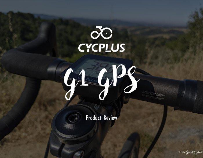 CYCPLUS's mini GPS bike computer