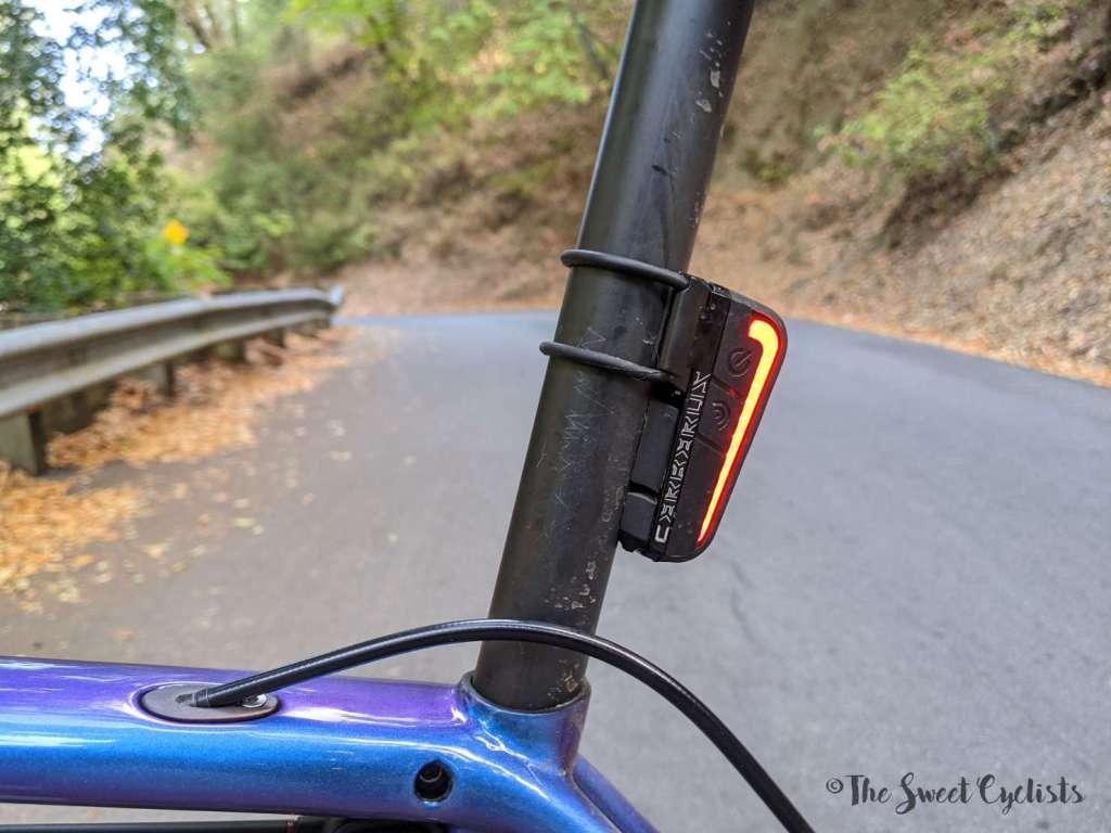Moon Sport Cerberus Taillight - Side View