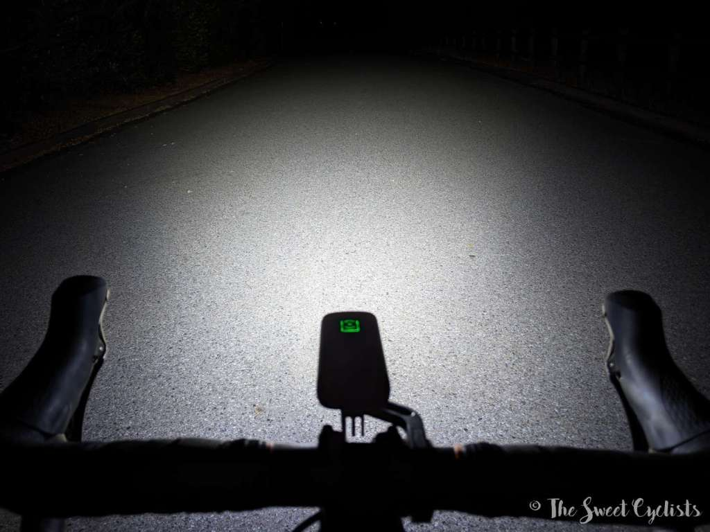 Magicshine Ray 2600 Headlight - Beam Pattern