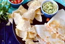 Easy to prepare chicken quesadillas recipe