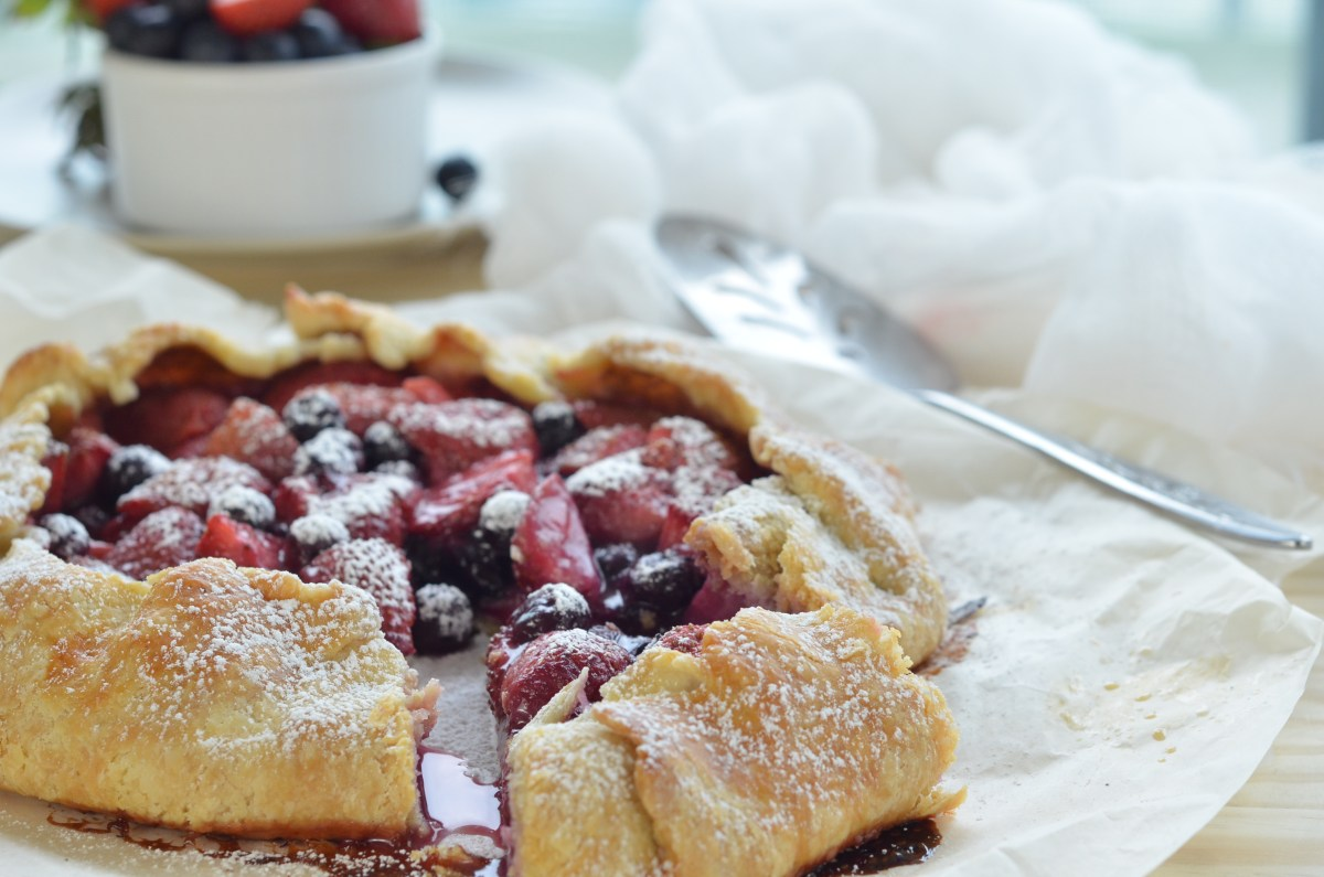 Berry Galette For Lazy Sundays