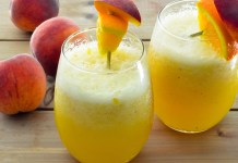 PEach perfect Wine Smoothie