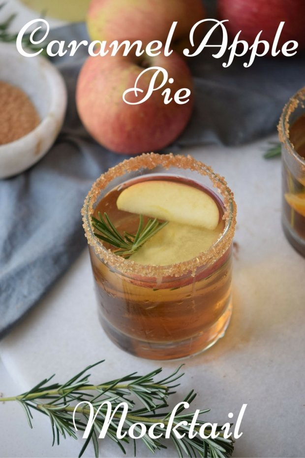 Caramel Apple Pie Mocktail