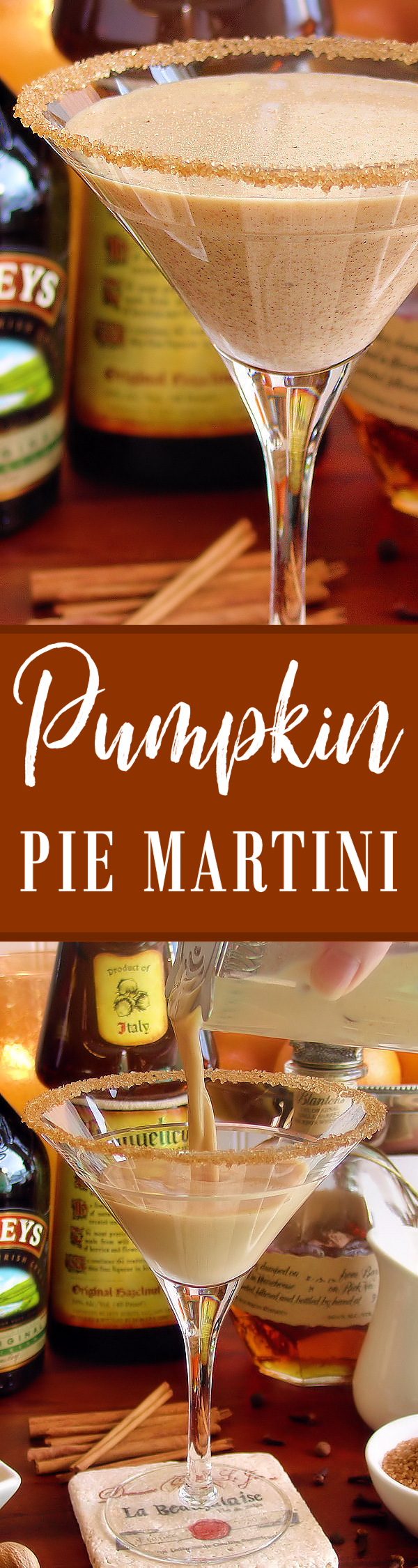 Pumpkin Pie Martini Cocktail