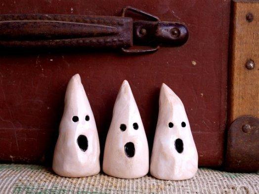 ceramic ghosts