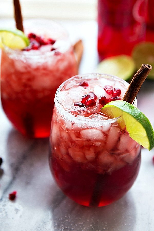 non-alcoholic sparkling cranberry lime and-pomegranate-beverage-perfect-for-holiday-entertaining