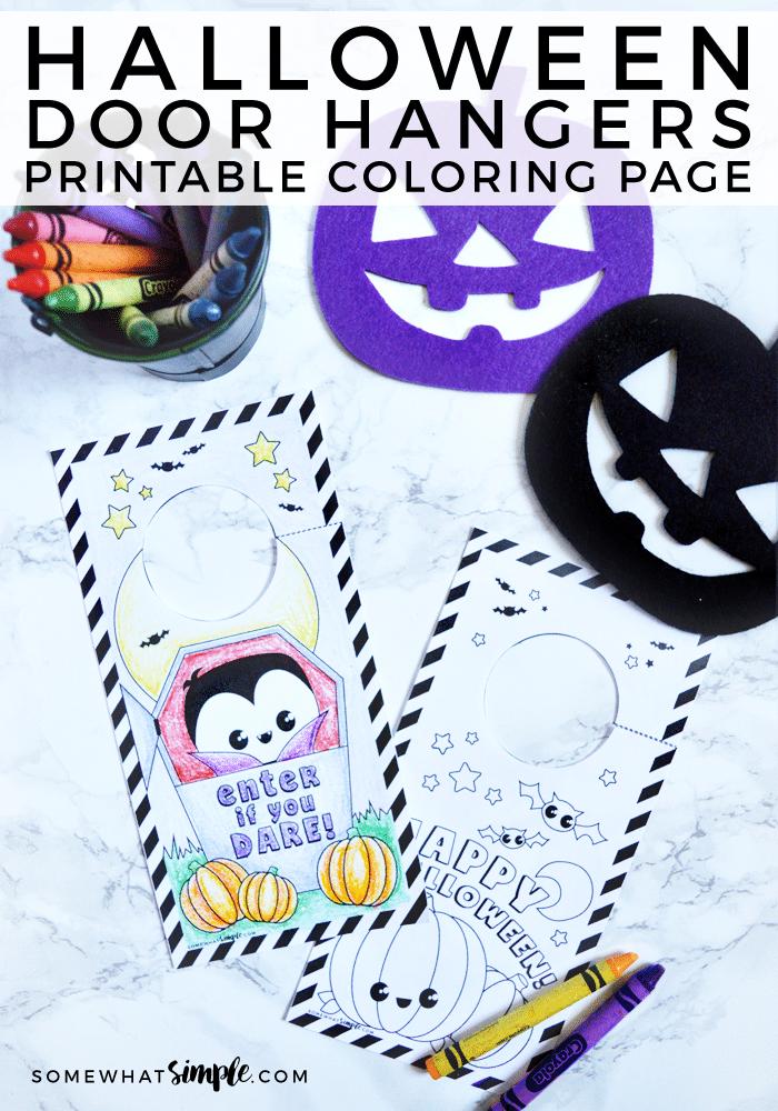 Halloween-Door-Hangers-Coloring-Page