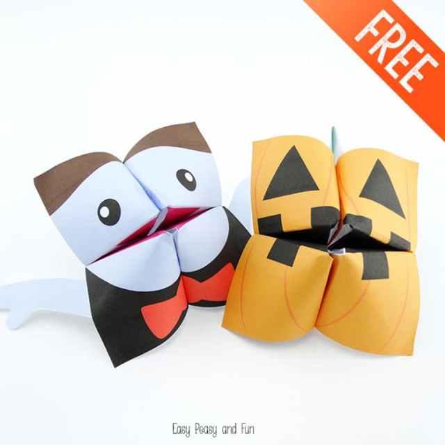 Vampire-and-Pumpkin-Halloween-Cootie-Catchers