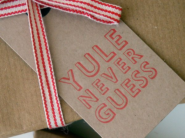 Favorite holiday gift tags from The Sweetest Occasion