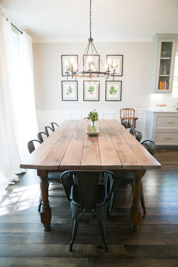 10 Beautiful Spaces: Dining Room Decor That I Love - The ... on Farmhouse Dining Room Curtains  id=93904