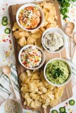 Easy Summer Appetizers: Four Awesome Party Dip Recipes