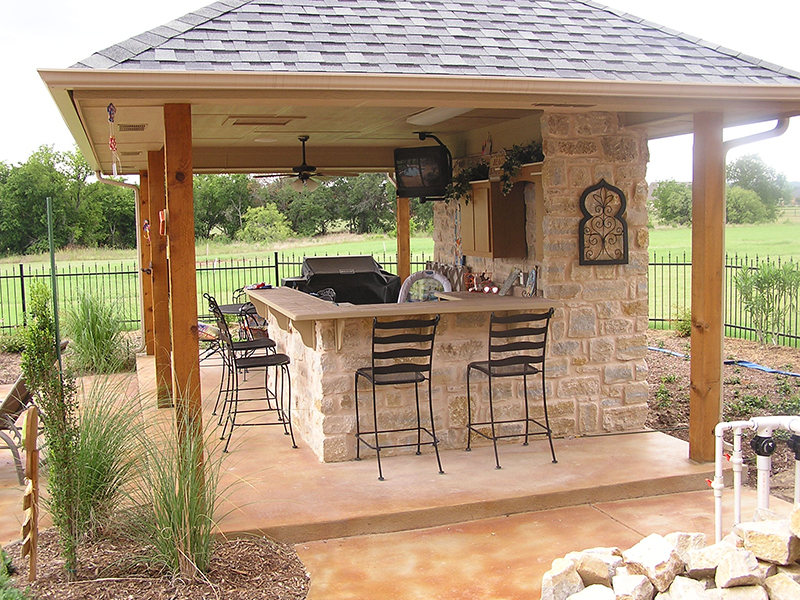 20 Best Outdoor Kitchen Ideas on Patio Kitchen  id=33438