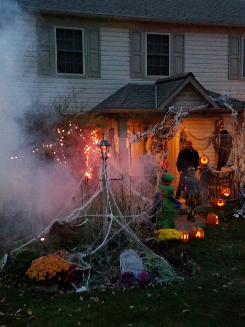 cool Halloween house
