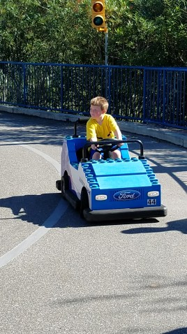 Driver in training