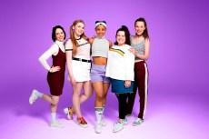 LtoR Lauren Jacobs, Katy Clayton, Rachelle Diedericks, Faye Christall, Sarah Kate Howarth credit Matt Crockett (Amanda Malpass's conflicted copy 2017-06-09)