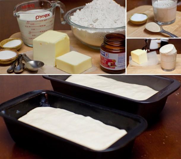 Receta para hacer Pan de Caja Casero via The Sweet Molcajete