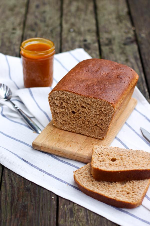 pan integral con miel