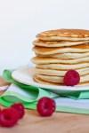 Receta de Hotcakes de Frambuesa