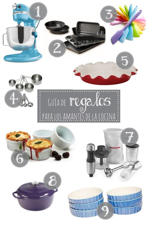 Guía De Regalos Para los Amantes de la Cocina