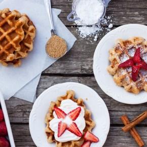 WAFFLES BELGAS DE LIEJA – Liège Waffles