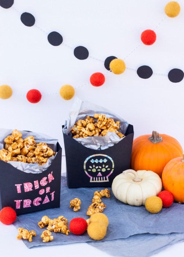 Cajita de Dulces para Halloween y Día de Muertos