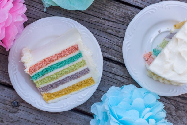 Vertical Layer Cake de colores