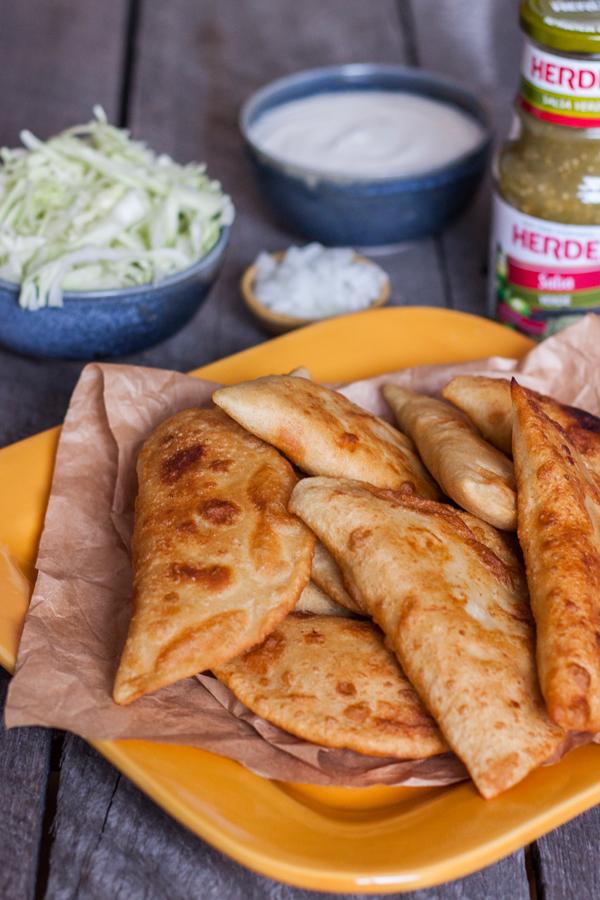 empanadas de pollo faciles para celebrar las posadas