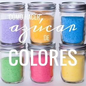 APRENDIENDO A… hacer azúcar de colores