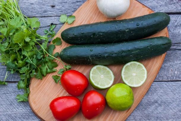 ceviche vegetariano de cous cous