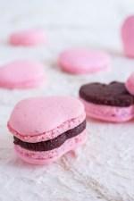 Este San Valentín, dile a las personas más importantes en tu vida cuánto las amas con estos preciosos Macarons de Corazón rellenos de Nutella casera