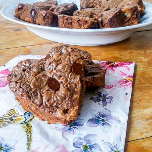 Brownies de Corazón - 9 ideas fáciles para celebrar un #DulceSanValentín