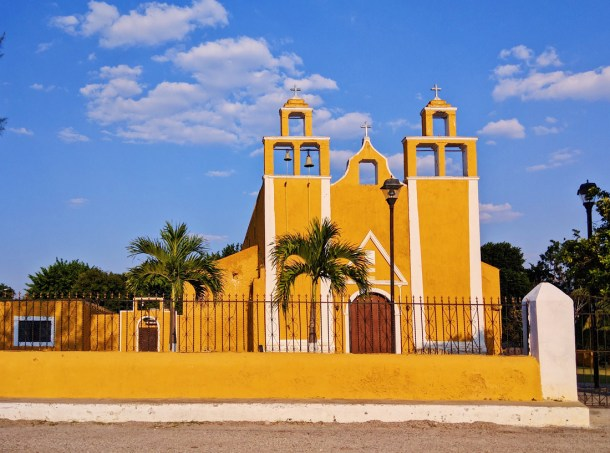 Iglesia en Izamal, Yucatán