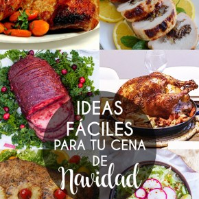 IDEAS FÁCILES PARA TU CENA DE NAVIDAD