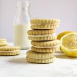 Lemon Butter Cookies -4