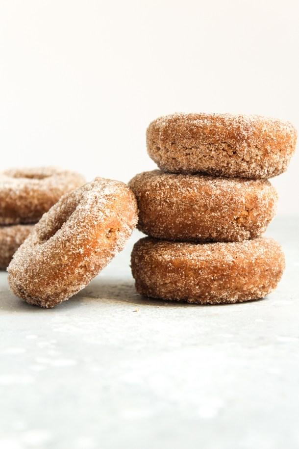 Baked Apple Cider Donuts-5