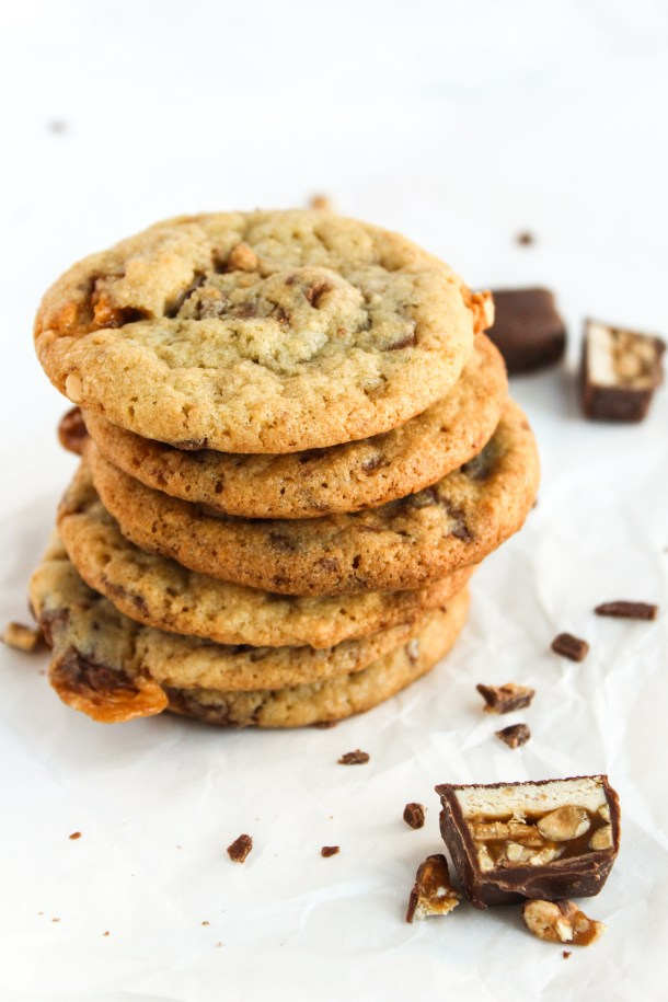 Candy Bar Cookies-6