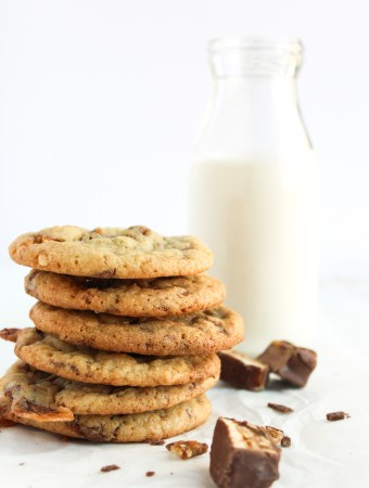 Candy Bar Cookies-7