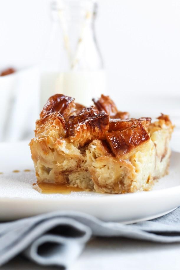 Croissant Bread Pudding-7