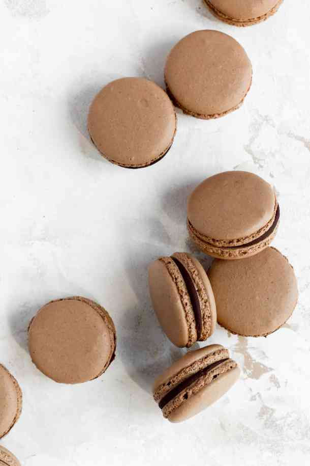 Chocolate Macarons-1