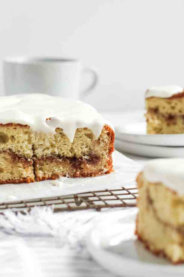 Cinnamon Roll Coffee Cake-3
