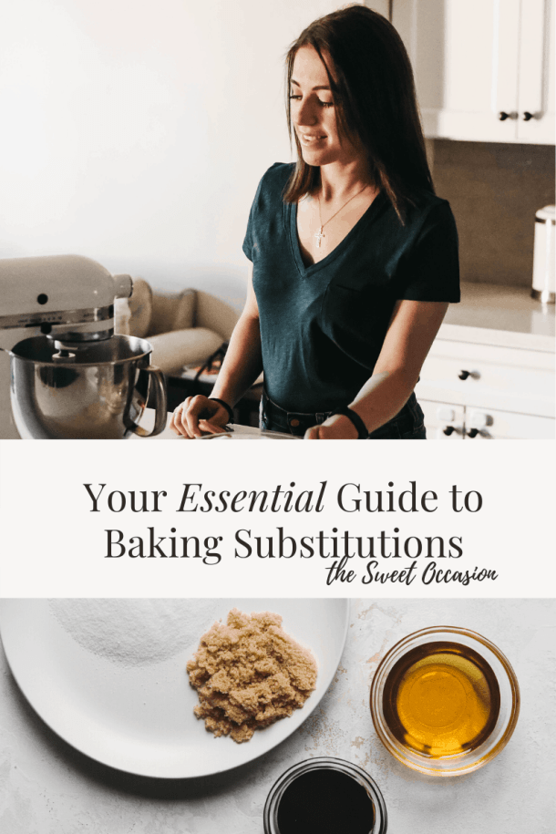 Essential Guide to Baking Substitutions