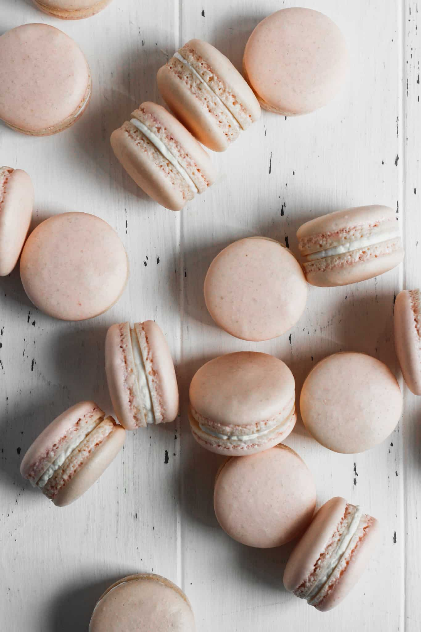 Vanilla Macaron Recipe The Sweet Occasion