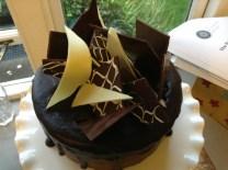 Fancy chocolate wafers