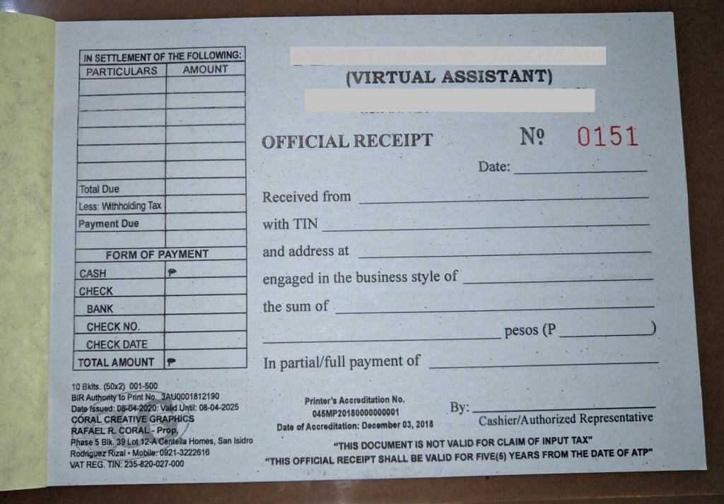 BIR Registration for Self-employed